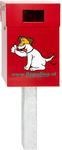 Hundetoiletten DepoDog Rot