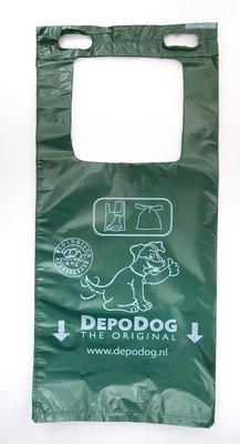 Hundekotbeutel Grün Block