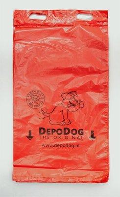 Hundekotbeutel Rot Block