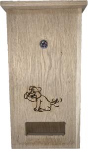 DepoDog Wood, Beutelspender aus Holz